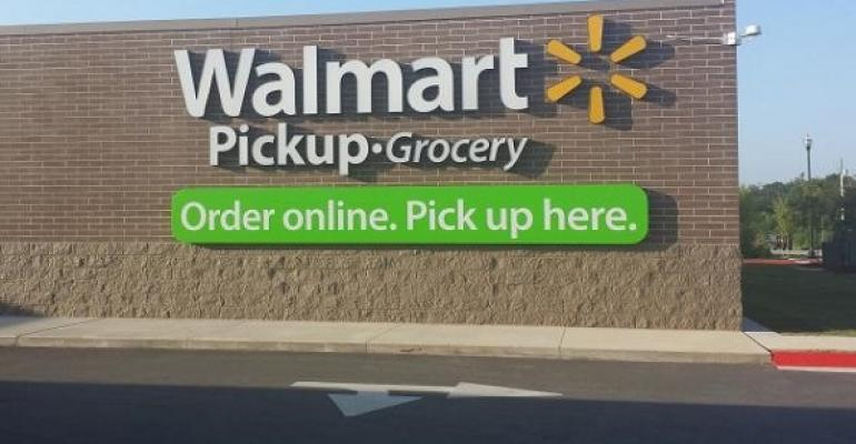 Walmart 'delighted' with grocery pickup site as test continues