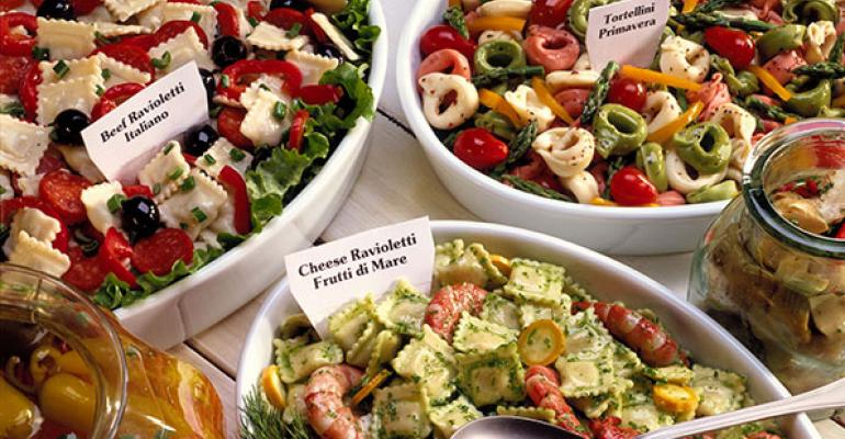 Retailers say consumers are looking for new twists on traditional deli sides Photo by Thinkstock