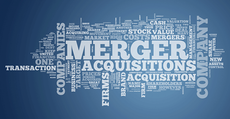 Consolidation: Favorable forecast for merger activity