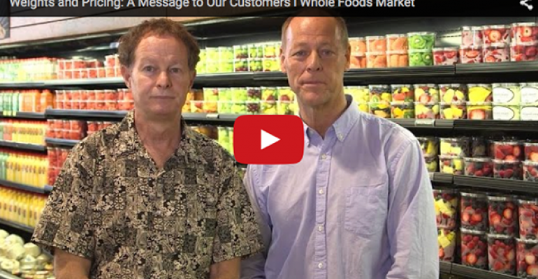Whole Foods acknowledges 'inadvertent' weighing errors