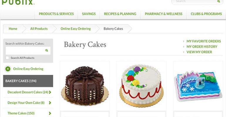 Publix adds cakes to online ordering