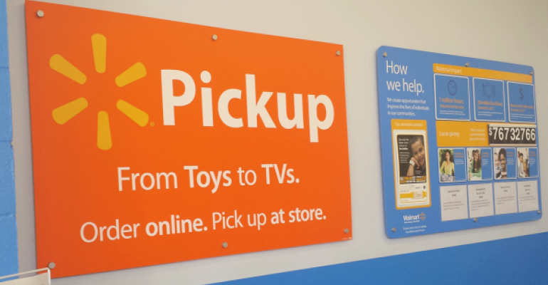 Walmart expands e-grocery in eight cities