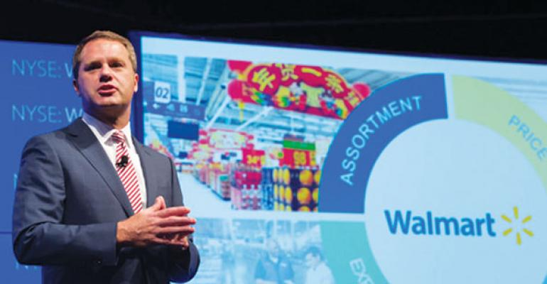 Walmart forging ahead with worker, tech  investments despite near-term gloom