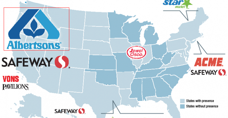How Albertsons grew (timeline and banner location map)