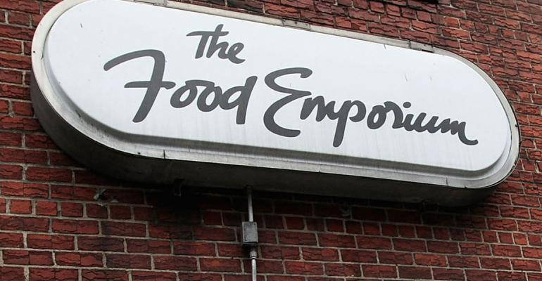 Key Food top bidder for Food Emporium banner