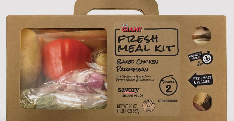 Giant to offer fresh meal kits