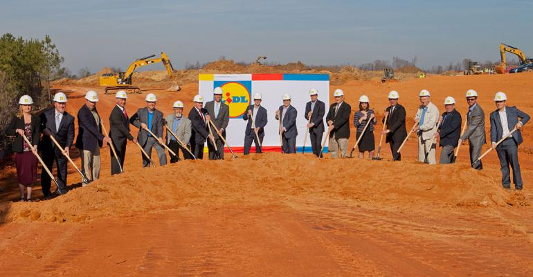Lidl breaks ground for N.C. hub