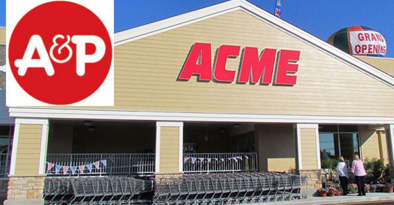 A&P selling 3 more sites to Acme; Green Way brand to Allegiance