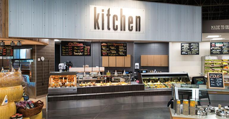 Instore meal solutions are an integral part of HyVeersquos branding strategy