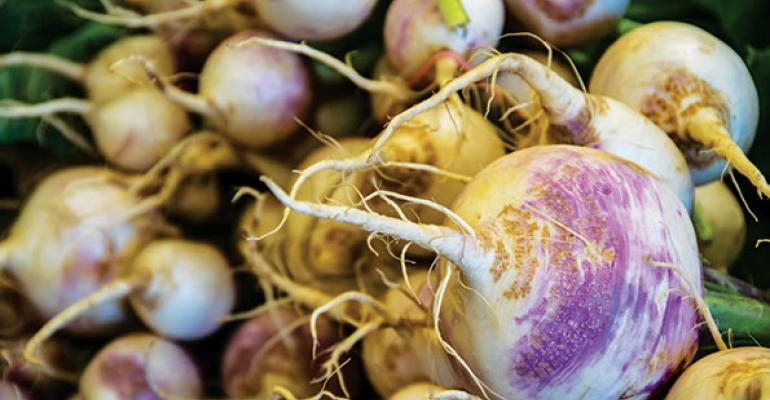 A KVATowned Food City store in Louisa Ky puts turnips at eye level so they stand out Many customers choose root vegetables to cook in their slow cookers