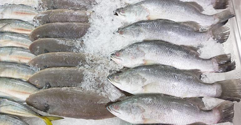 Hy-Vee sources 100% sustainable fresh, PL frozen seafood