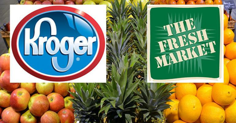 Analyzing the potential Kroger-Fresh Market hookup