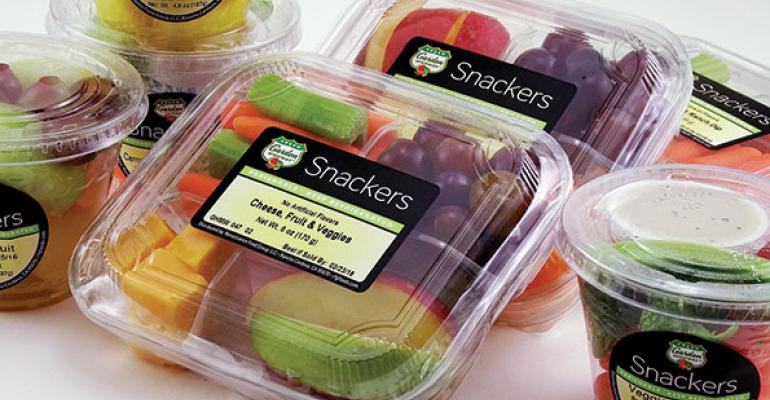 Fruit-and-vegetable medleys on the cutting edge