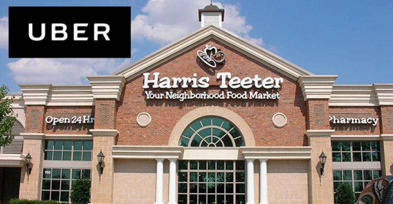 Harris Teeter to deliver through Uber