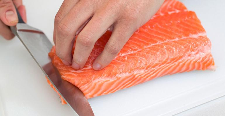 Salmon presents opportunities for seafood department