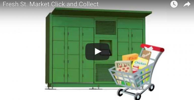 Fresh St. adds refrigerated lockers for click-and-collect
