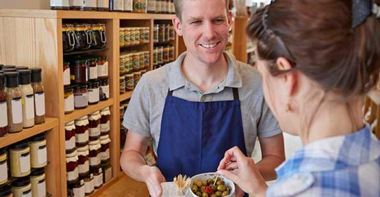 Sampling with the 5 senses to grow sales