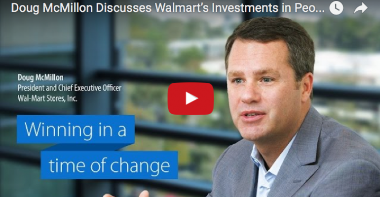 Video: CEO McMillon on 'seamless' Walmart