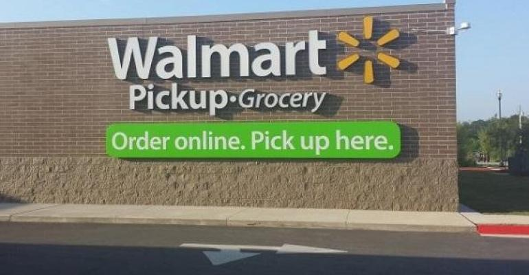 Walmart expanding grocery pickup