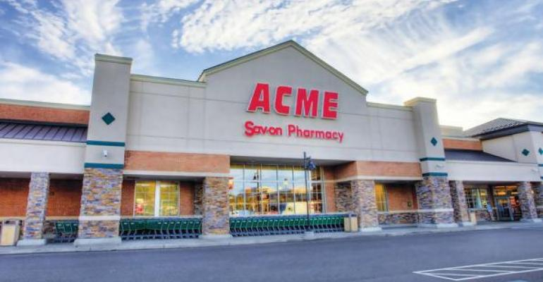 Acme took over 73 former AampP sites looking to build sales behind improved service and promotions and reintroduce itself to communities it had once departed