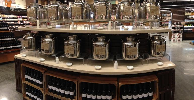 Barons Market brings in olive oil tasting bars