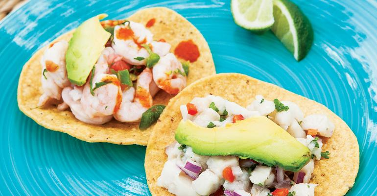 Ceviche appeals to customers who are looking to eat healthier without going all organic or glutenfree