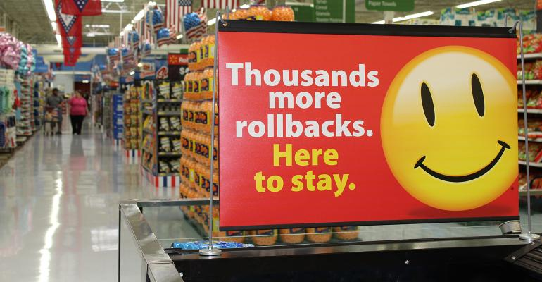 Walmart expanding rollbacks as price competition intensifies