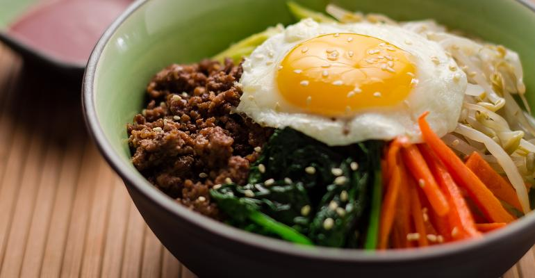 365 global offerings include bibimbap a Korean dish that literally means quotmixed ricequot Thinkstock photo