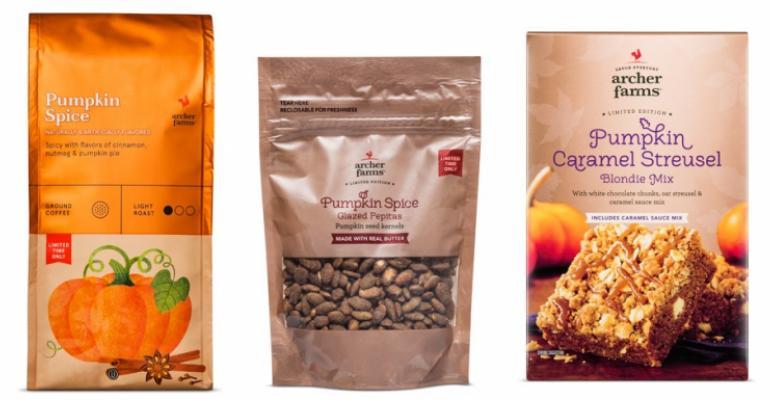 Retailers reintroduce everything pumpkin spice