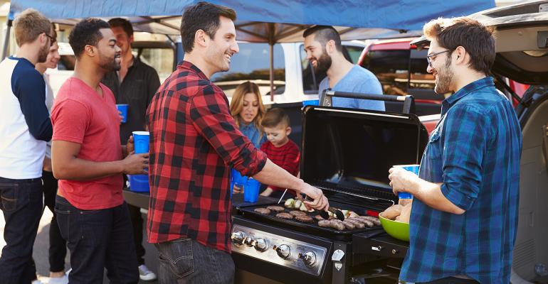 The Lowes Foods to Go website offers grillready meats and other tailgating supplies