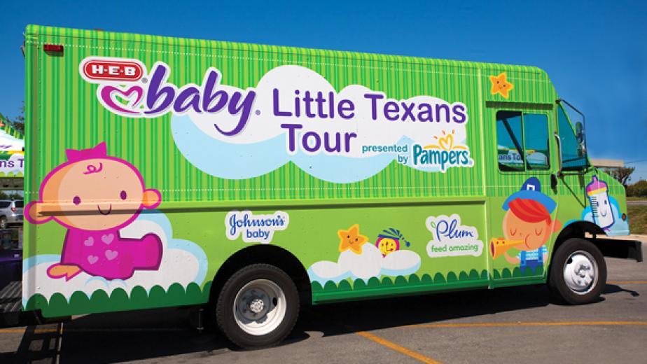 H-E-B Baby bus