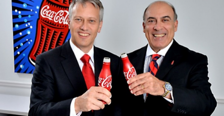 Coca Cola exec change