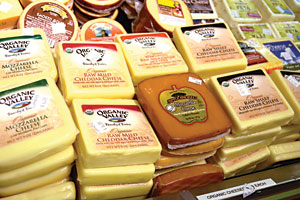 Some consumers look to raw milk cheese to aid digestion.