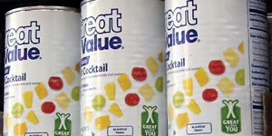 Wal-Mart began adding the Great for You nutrition icon on select private-label items in the spring.
