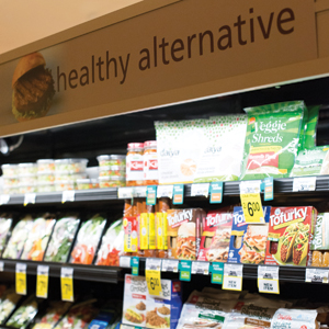 Safeway offers plenty of opportunities for customers to choose more healthful fare.