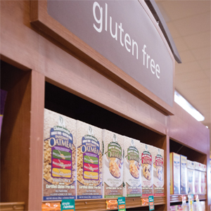Safeway's new sandbox store near its headquarters includes a dedicated gluten-free section