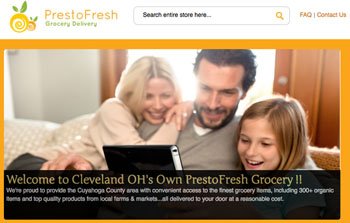 PrestoFresh online grocery