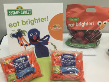 Eat Brighter branded products from suppliers.