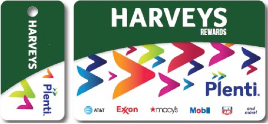 "Harveys joins Rite Aid, Macy's and others in the ""coalition"" program."